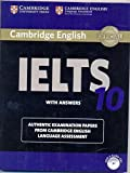 Cover of: Cambridge Ielts 10 Students Book With Answers With Audio Cds (2) South Asia Edition [Paperback] | Books Wagon