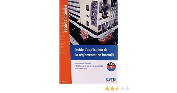 Amazon guide d application de la règlementation incendie