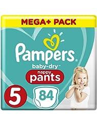 Pampers Baby Dry Pants Größe 5 Junior 12-17 kg Mega Plus Pack