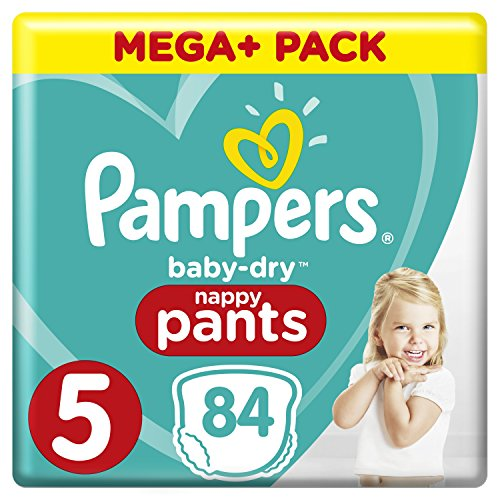 Pampers Baby Dry Pants with Air Ducts 84(Size 5)