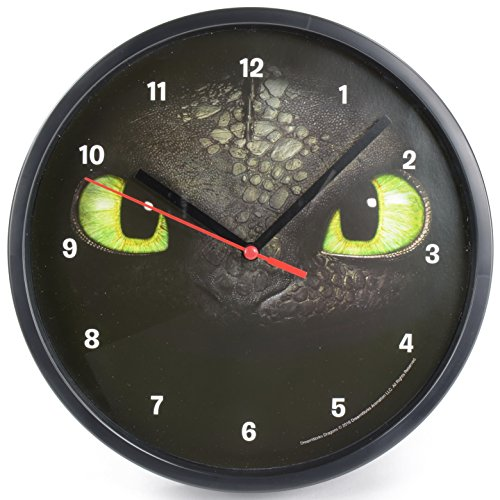 dreamworks-dragons-krokmou-toothless-horiloge-de-pared-21cm