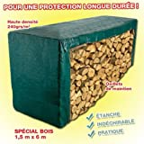 Provence Outillage 5106 - Telone verde, 240 g/m, 2 x 8 m
