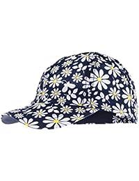 maximo Mädchen Kappe Basecap mit Blumen