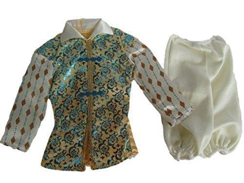 nn G.I. Joe Puppe Kleidung Weiß& Glänzend Blau Jacke & Hose Prince Charming Outfit (Kein Mattel) von Fat-Catz-copy-Catz (Prince Charming-outfits)