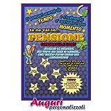 Cartolina auguri pensione