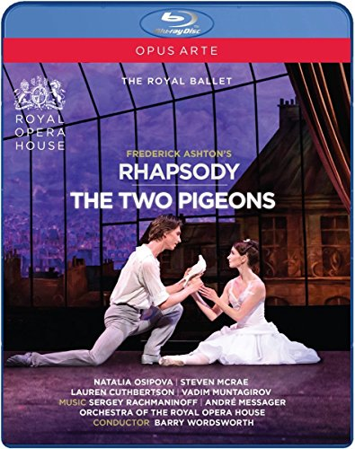Bild von Frederick Ashton: Rhapsody & The Two Pigeons [Blu-ray]