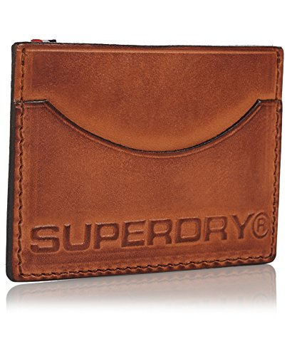 Superdry Leather Card Holder (Brown) Image 2