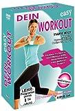 Muskelaufbaumittel - Dein Easy Workout : Rücken - Aerobic - Fatburner - Bauch, Beine, Po - 4 DVD Box