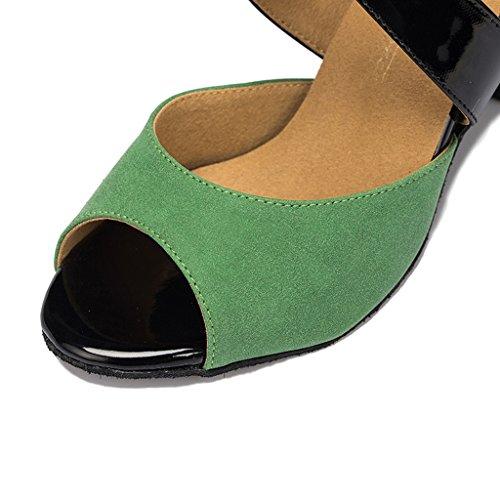 Meijili ,  Damen Tanzschuhe Grün
