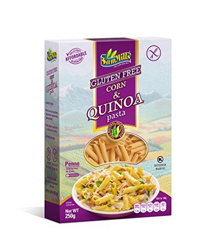 Corn & Quinoa Pasta - Penne - Glutenfreie Nudeln aus Mais- und Quinoamehl 6er Pack (6 x 250 g)