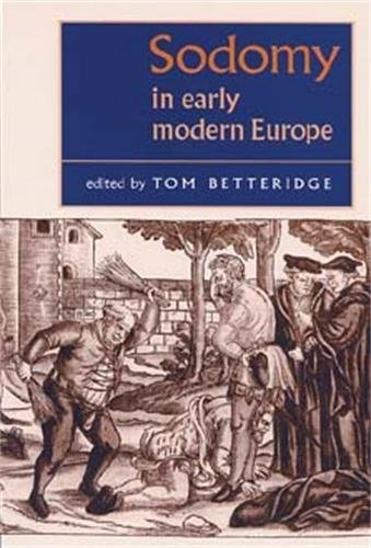 Price comparison product image Sodomy in Early Modern Europe (Studies in Early Modern European History)