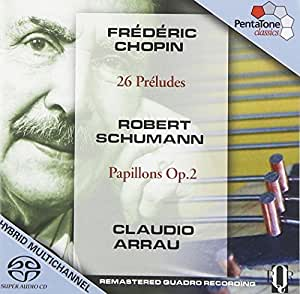 26 Preludes/Papillons Op.2