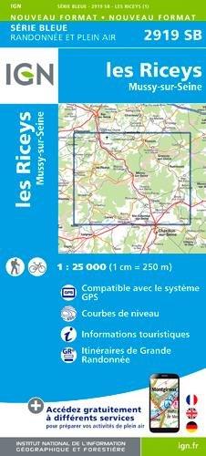 les Riceys.Mussy-sur-Seine par Ign