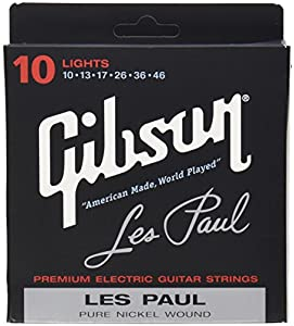Gibson Gear SEG-LP10 Cordes nickelé pour Guitare électrique Light Gauge