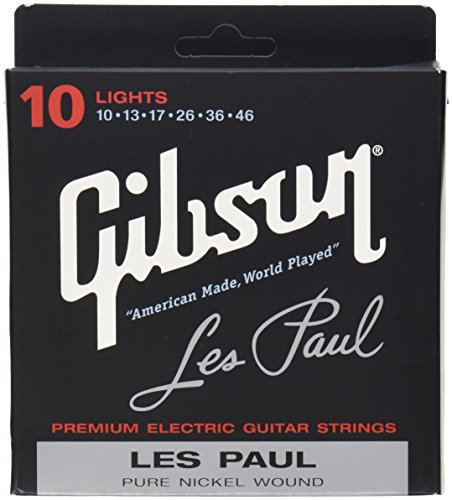 Gibson Gear SEG-LP10 Les Paul Saiten .010 - .046