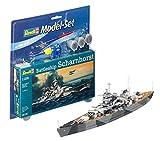 Revell 65136 Modellbausatz Battleship Scharnhorst im Maßstab 1:1200