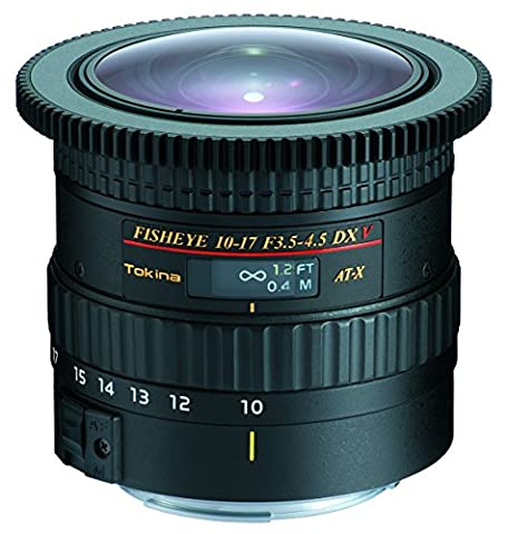 Tokina at-x 10–17mm f/3,5–4,5Objectif DX V pour appareil photo Canon