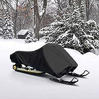 "Impermeable Trailerable cubierta de nieve cubre Arctic Cat Polaris esquí Doo Yamaha Compatible con longitud 126""-138"