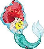 Amscan International 3352901 Little Mermaid - Globo de papel de aluminio