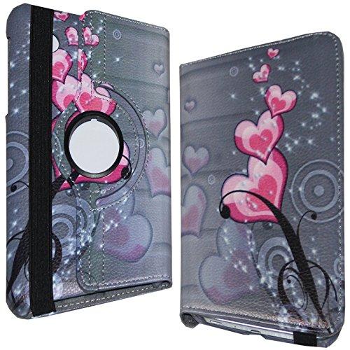 JYtrend Jytb2170501 Tablet-Schutzhülle, samsung-galaxy-tab samsung-galaxy-tab-2-7.0, Heart Flower Gt-p3113 Tablet