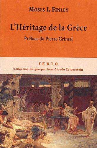 L'Héritage de la Grèce par Moses I. Finley