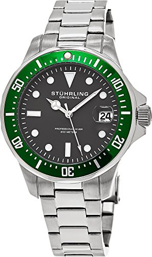 Stuhrling Original 664.03 Herren-Armbanduhr Analog Quarz Edelstahl