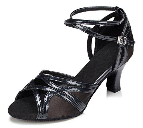 TDA - Strap alla caviglia donna 6cm Heel Black