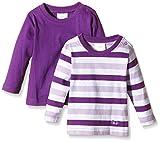 Photo de Twins Lot de 2 T-Shirt À Manches Longues Bébé Fille par Twins
