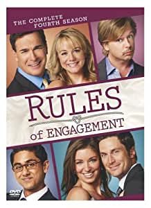 Rules of Engagement: The Complete Fourth Season [DVD] (2011) Patrick Warburton (japan import)