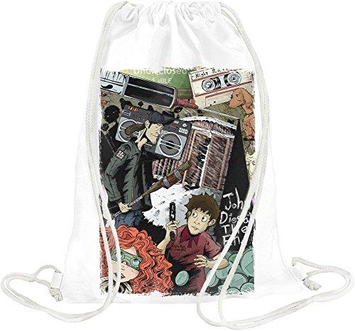 John dies at the end Drawstring bag