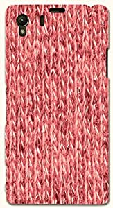 Great multicolor printed protective REBEL mobile back cover for Sony Xperia Z1 C6902/L39h D.No.N-T-4517-S39