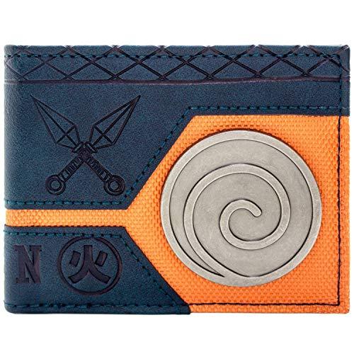 Naruto Shippuden Uzumaki Clan Blau Portemonnaie Geldbörse