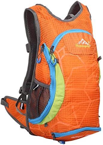 EVERGO Zaino da trekking Ciclismo Corsa Zaino Light traspirante traspirante traspirante 15L, arancione | Usato in durabilità  | bello  94c208