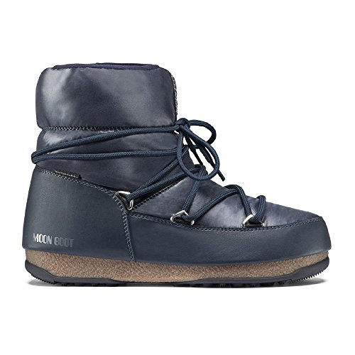 Tecnica Apres-ski-stiefel (Moon-boot Damen W.E. Low WP Schneestiefel, Blu (Blue/Denim 006), 40 EU)