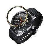SHSHSH‿2PC Nouveau Bezel Styling pour Samsung Galaxy Watch 46mm Anti Rayure Etanche...