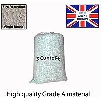 Westminster Bean Bag Booster Refill Polystyrene Beads Filling Top Up Bag Beans Balls 3 cubic feet