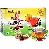 All in One Herbal Lemon Tea Premix Sulphur less Sugar, 25 pouches