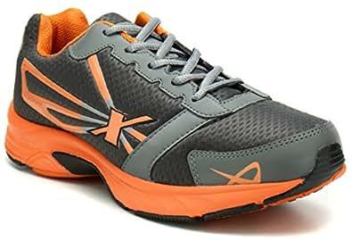 Sparx Men's  Grey and Orange Running Shoes - 10 UK/India (44.67 EU) (SX0236G)