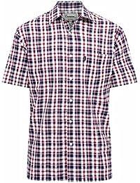 Champion - Camisa Casual - para Hombre Rojo Rosso XXXL H6IKPDs