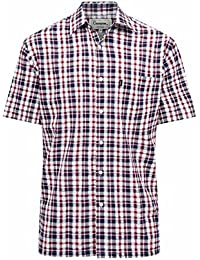 Champion - Camisa Casual - para Hombre Rojo Rosso X-Large 9eda7a1b825