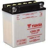 YUASA BATERIA 12N9-3B abierto - sin ácido