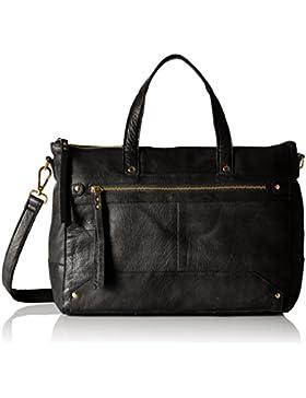 PIECES Damen Pcnara Leather Bag Henkeltasche, 13 x 34 x 43 cm