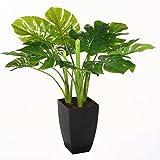 Plante Verte Artificielle - 77 cm - Avec Pot