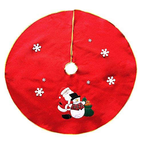 YJZQ Weihnachtsbaum Rock-19