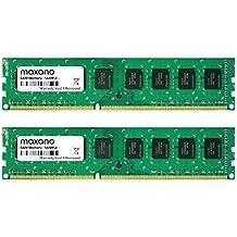 4GB Dual Channel kit (2x 2GB) para Dell OptiPlex 980DDR31333MHz (PC3–10600U) DIMM Memoria RAM Memory