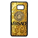 Samsung Galaxy S7 Black Cell Phone Case Versace Brand Logo Custom Case Cover A11U523548