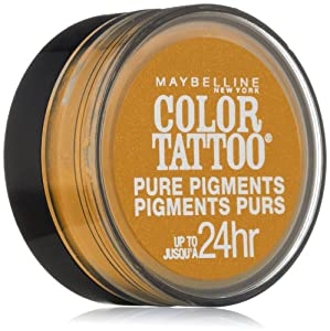 Maybelline Color Tattoo Pure Pigments Eye Shadow #25 Wild Gold