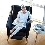 place to be! Top moderner Relax Sessel Stillsessel in Premiumqualität im skandinavischem Stil. Ohrensessel mit Schlaffunktion und hoher Lehne in 11 verschiedenen Stoffen und verschiedenen Massivholzarten.