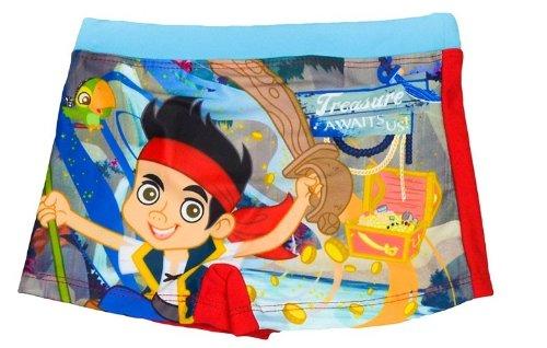 Disney - Maillot de bain boxer Jake et les pirates rouge