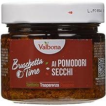 Valbona Bruschetta ai Pomodori Secchi - Peso Netto 190 gr - [confezione da 6]